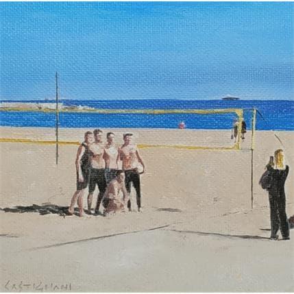 Sergi Castignani Bleu marine 5 13 x 13 cm