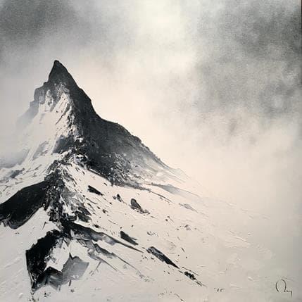 Julien Rey Dans la brume 70 x 70 cm