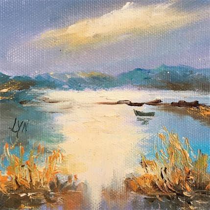 Lyn Reflet sur le marais 13 x 13 cm