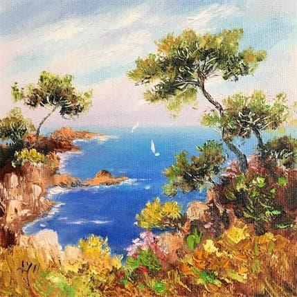 Lyn Matin sur la côte 19 x 19 cm