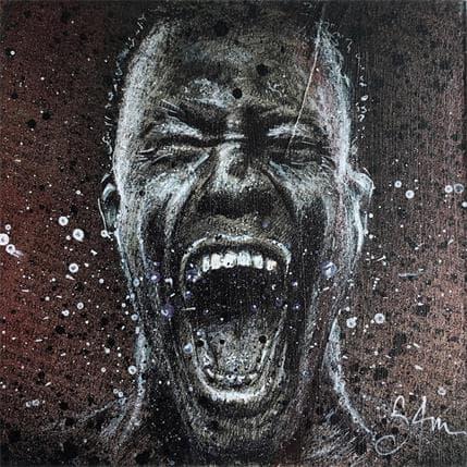 Sam Guillemot The scream 13 x 13 cm