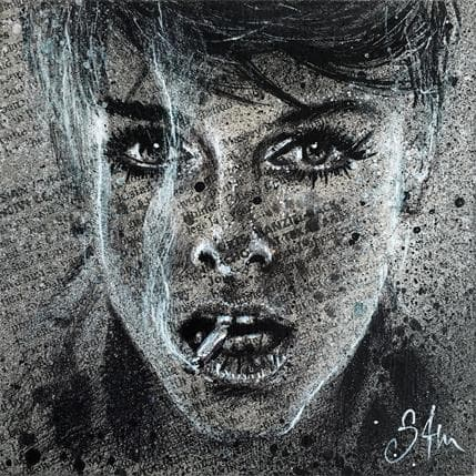 Sam Guillemot Jean 13 x 13 cm