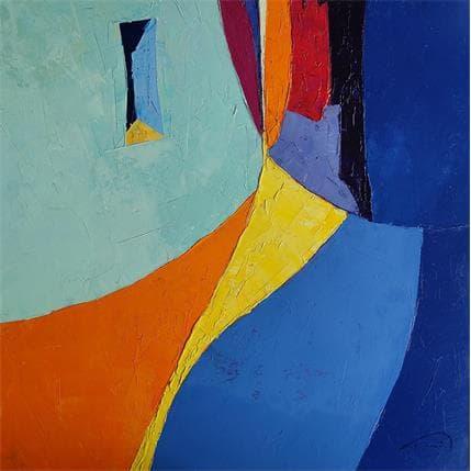 Tomàs Fantastic blue 36 x 36 cm