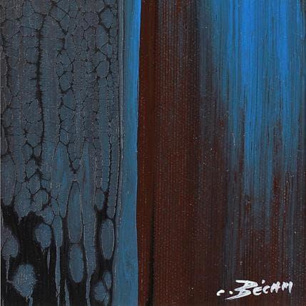 Carole Becam  Bandes Colorées n°47 13 x 13 cm
