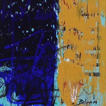 Carole Becam  Bandes Colorées n°49 13 x 13 cm