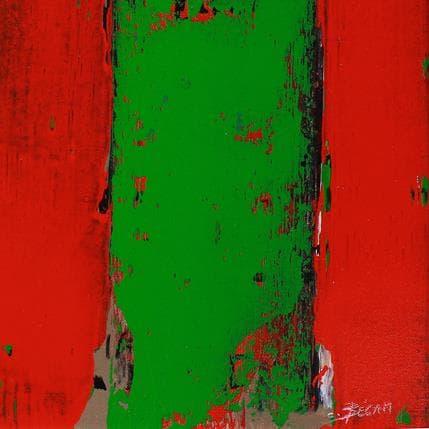 Carole Becam Bandes Colorées n°53 19 x 19 cm