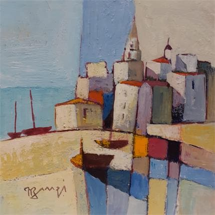 Roger Burgi BARQUES ECHOUEES 13 x 13 cm