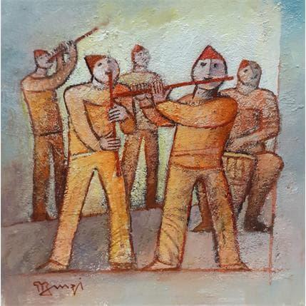 Roger Burgi LES SALTIMBANQUES 19 x 19 cm