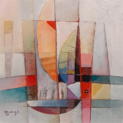 Roger Burgi LE GRAND VOILIER 25 x 25 cm