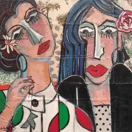 Mercedes Garcia Gallardo En la ilusion 50 x 50 cm
