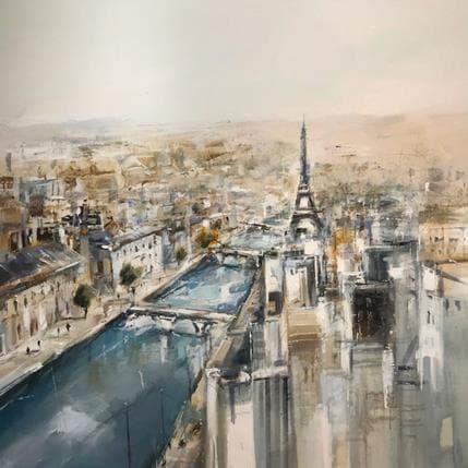 Richard Poumelin Paris 80 x 80 cm