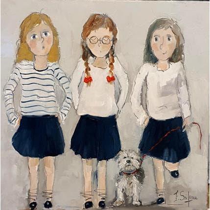 Françoise Soizeau Petit trio 50 x 50 cm