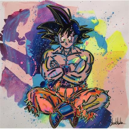 SHOKKOBO Son Goku 143c 25 x 25 cm