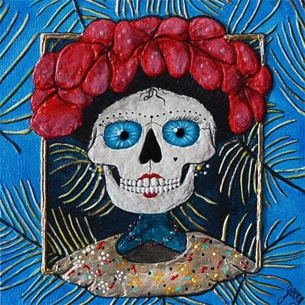 Geiry FRIDA BLUE 19 x 19 cm