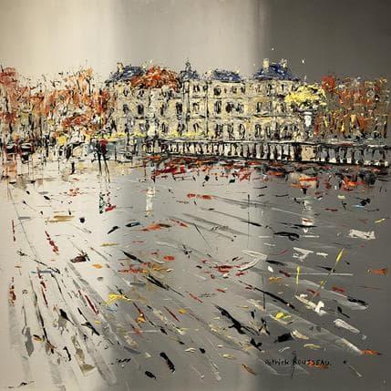 Patrick Rousseau Les pluies de mars 100 x 100 cm