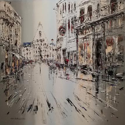 Patrick Rousseau Parfums de pluie 100 x 100 cm