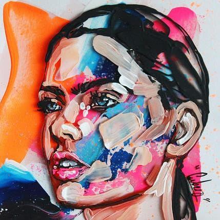 Nathalie Cubero Girl 95a 13 x 13 cm