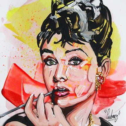 Nathalie Cubero Audrey Hepburn 83b 19 x 19 cm