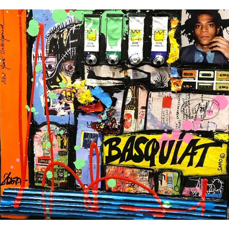 Tribute to Basquiat (Black)