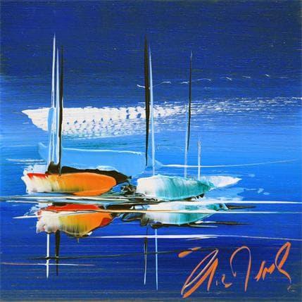 Eric Munsch Blue 13 x 13 cm