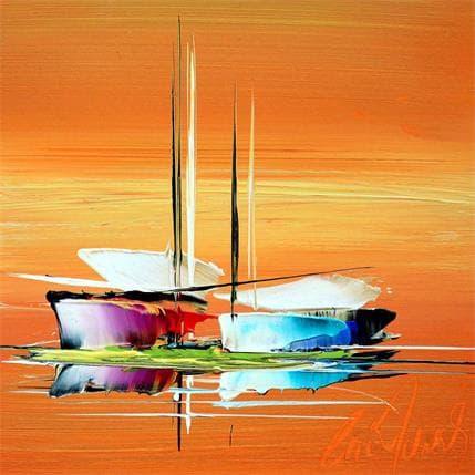 Eric Munsch Lumière d'or 19 x 19 cm