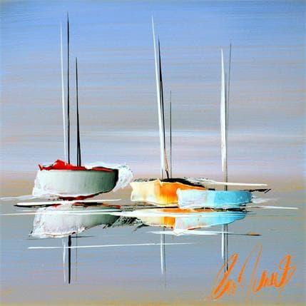 Eric Munsch Aux belles couleurs 19 x 19 cm