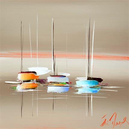 Eric Munsch L'instant paisible  36 x 36 cm
