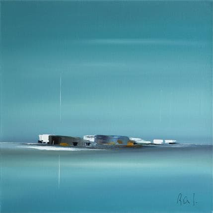 Marie-Ange et Fanny Roussel Impression marine 50 x 50 cm