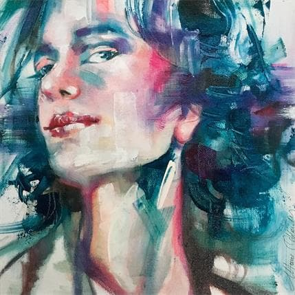 Monica Abbondanzia Turchese 19 x 19 cm