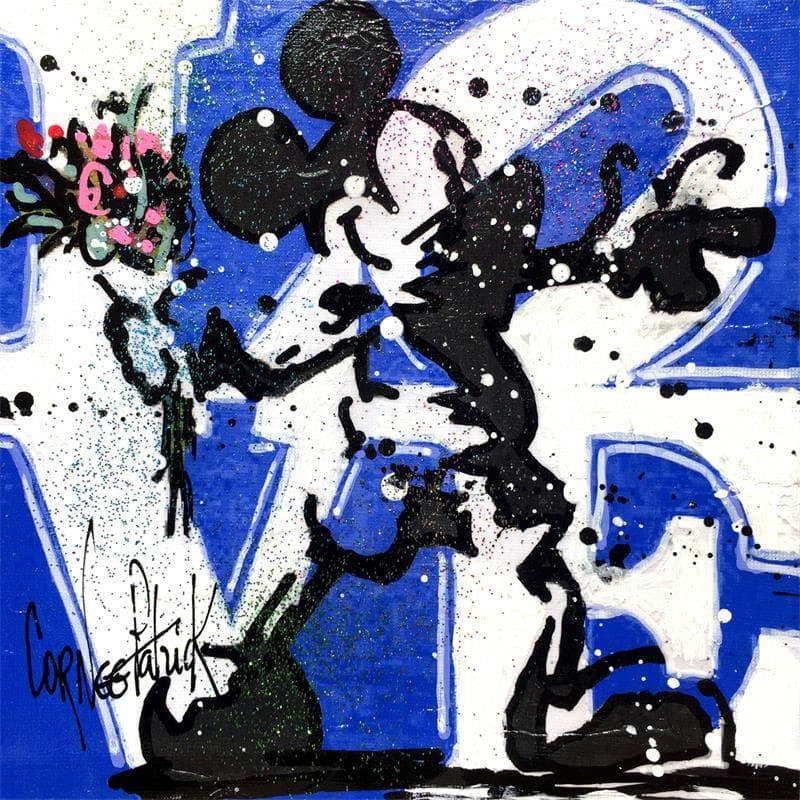 MICKEY FLOWER, LOVE BLUE VERSION