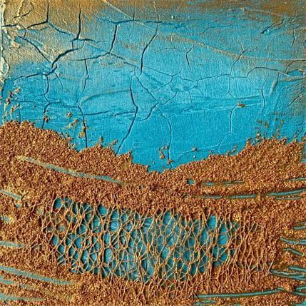 Silvia Depaire Mer de sable n°11 13 x 13 cm