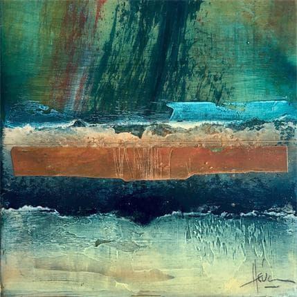 Christian Hévin Abstraction 9027 13 x 13 cm