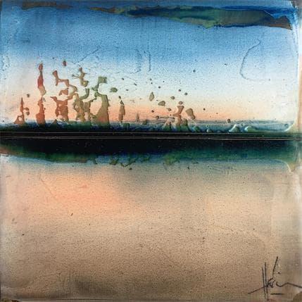 Christian Hévin Abstraction 9033 13 x 13 cm