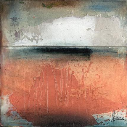 Christian Hévin Abstraction 9055 13 x 13 cm