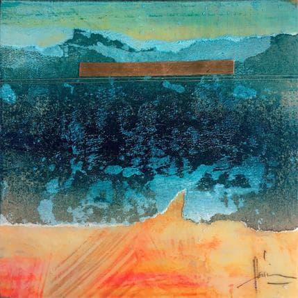 Christian Hévin Abstraction 9038 13 x 13 cm