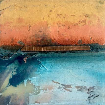 Christian Hévin Abstraction 9052 13 x 13 cm