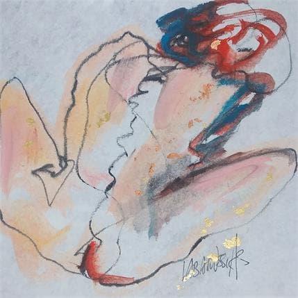 Corinne Labarussias Rosemonde 19 x 19 cm