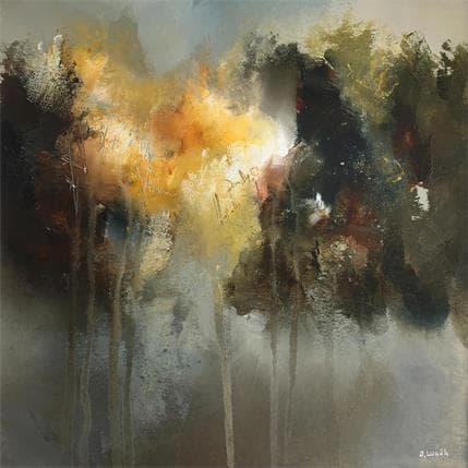 Jonas Lundh Poetry - trees 25 x 25 cm