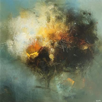 Jonas Lundh Poetry - tree  36 x 36 cm