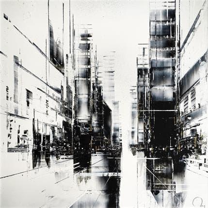 Julien Rey Golden city 36 x 36 cm