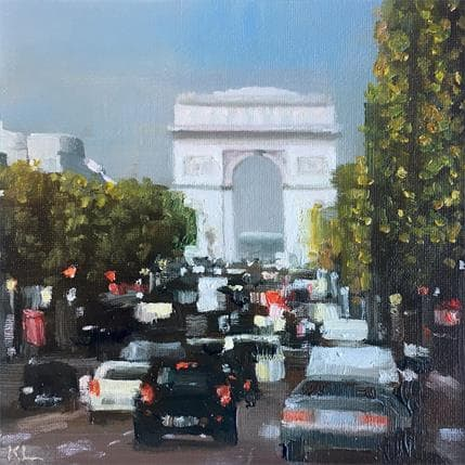Katie Lokotska Les Champs-Elysées 13 x 13 cm
