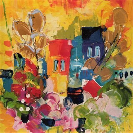 Armelle Bastide d'Izard COTE D'AZUR 36 x 36 cm