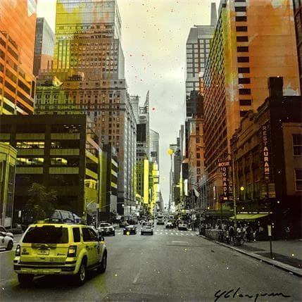 Yohann Gloaguen Taxi driver 13 x 13 cm
