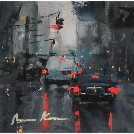 Amine Karoun NYC Traffic 13 x 13 cm