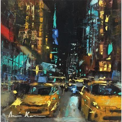 Amine Karoun Night district 19 x 19 cm