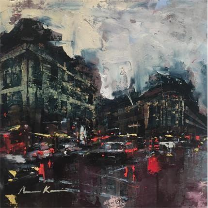 Amine Karoun Avenue de l'opéra 25 x 25 cm