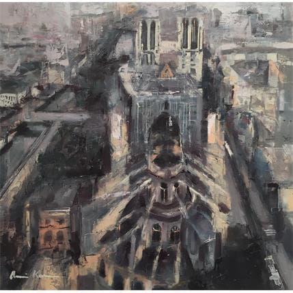 Amine Karoun Notre Dame de Paris 36 x 36 cm