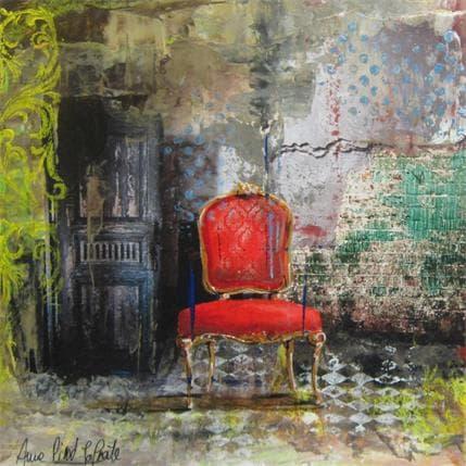 Anne Pivot-Iafrate THE DOOR 36 x 36 cm