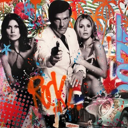 Fabien Novarino Bond girls 80 x 80 cm