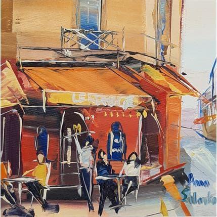 Anna Salenko Terrasse parisienne 13 x 13 cm